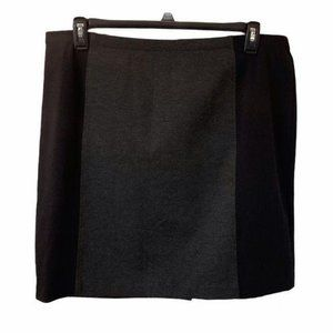 5/$20 Ellen Tracy gray and black mini skirt XXL